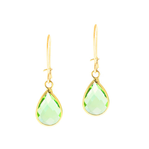 SPRING KISS MINI STATEMENT EARRINGS (MINT)