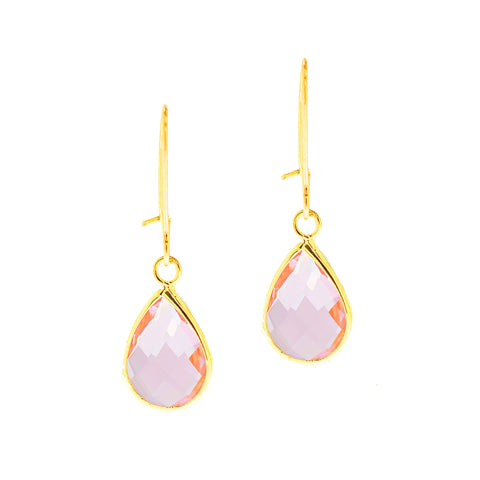 SPRING KISS MINI STATEMENT EARRINGS (PINK)
