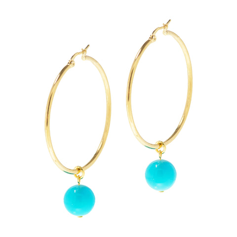 ISLAND GLAMOUR STATEMENT EARRINGS