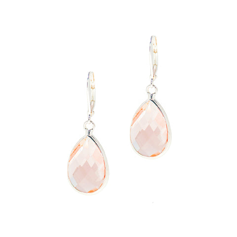 SPRING RAIN STATEMENT EARRINGS (PINK)