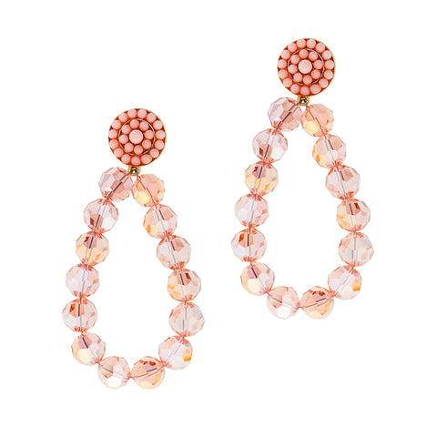 ROSE ALL DAY STATEMENT EARRINGS