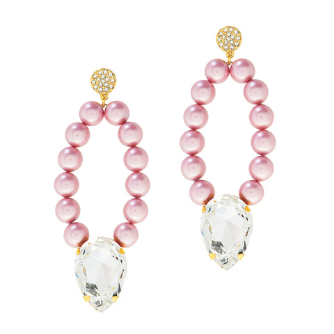 PEARL PRESTIGE STATEMENT EARRINGS