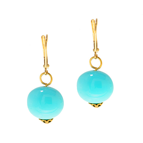 CARIBBEAN RAINDROP STATEMENT EARRINGS