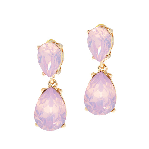 PARIS PINK STATEMENT EARRINGS