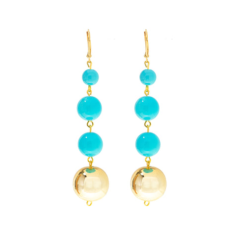 ST. LUCIA BEAUTY STATEMENT EARRINGS