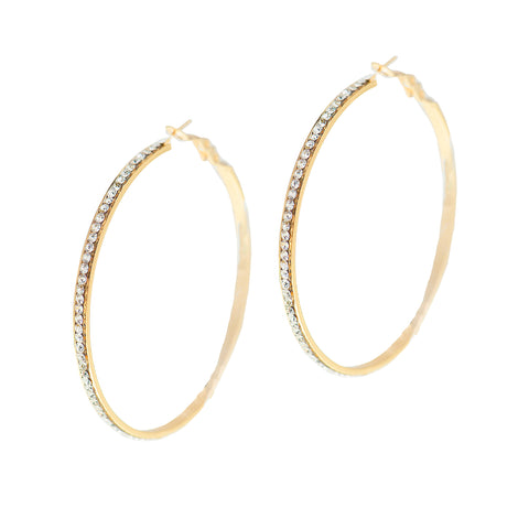 GRAND SPARKLE STATEMENT EARRINGS