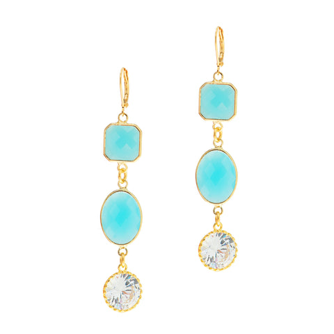 BAHAMIAN BEAUTY STATEMENT EARRINGS