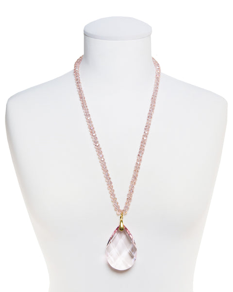 PASTEL DREAM STATEMENT NECKLACE (PINK)