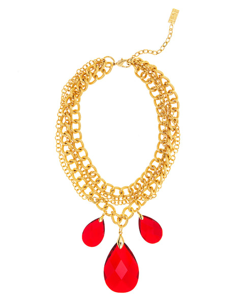 GO GLAM HOLIDAY STATEMENT NECKLACE