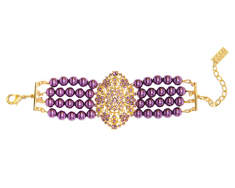 EMPRESS OF THE SEASON STATEMENT BRACELET