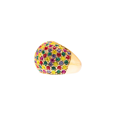 DAZZLING NIGHTS STATEMENT RING (MULTI-COLOUR)