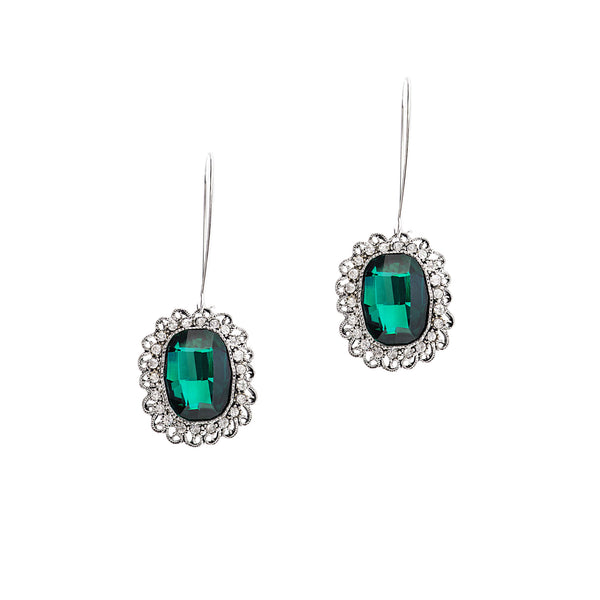 HOLIDAY ELEGANCE STATEMENT EARRINGS