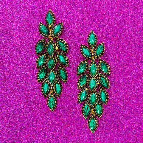 POSH PINE STATEMENT EARRINGS