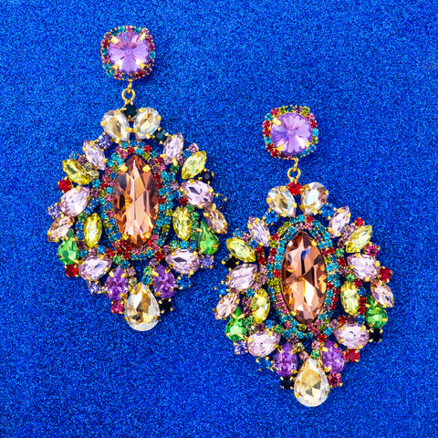 BAROQUE BEAUTY STATEMENT EARRINGS