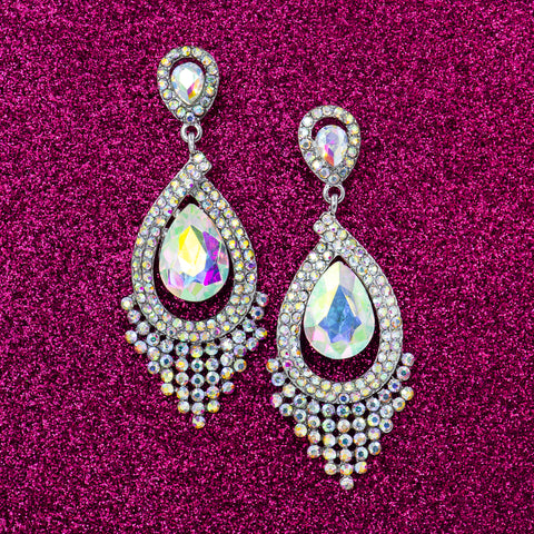SUGAR PLUM DROP STATEMENT EARRINGS