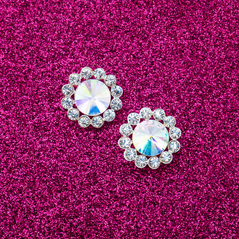 MOONLIGHT MADAME STATEMENT EARRINGS
