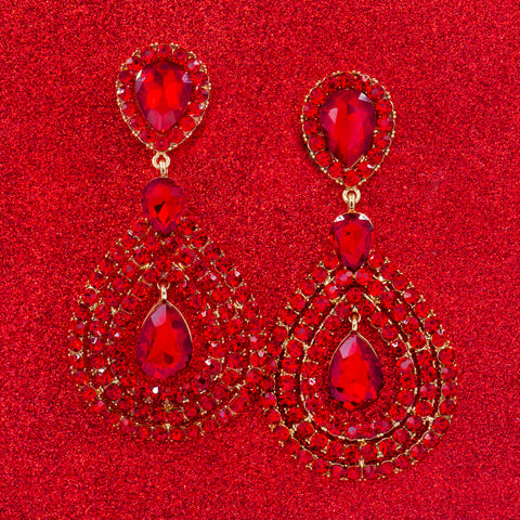 MOULIN ROUGE STATEMENT EARRINGS