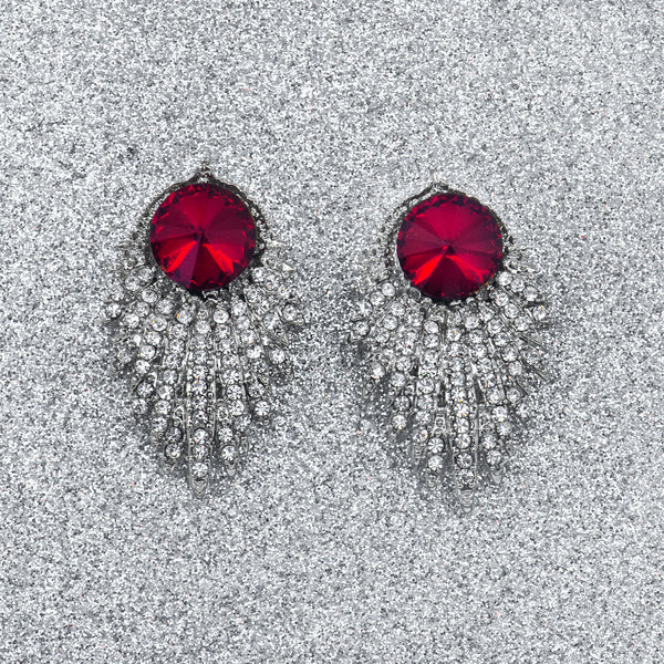 HOLLYWOOD VINTAGE STATEMENT EARRINGS