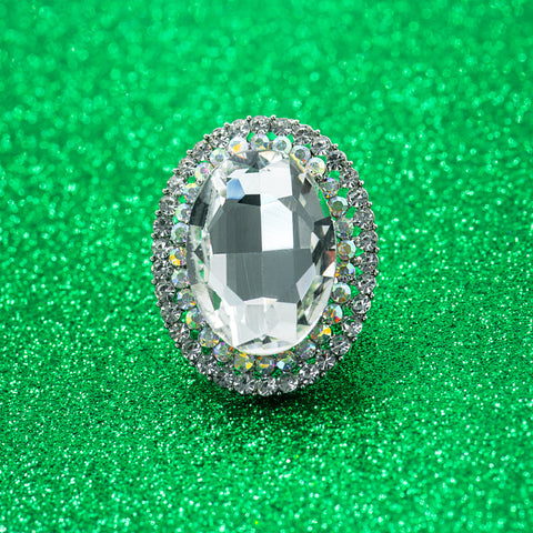 SNOW TWINKLE STATEMENT RING