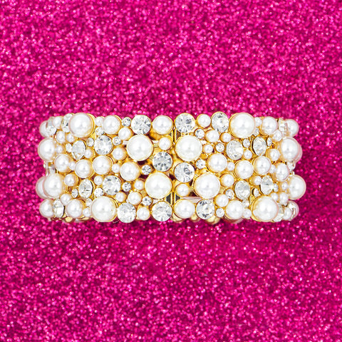 PEARL PASSION STATEMENT BRACELET