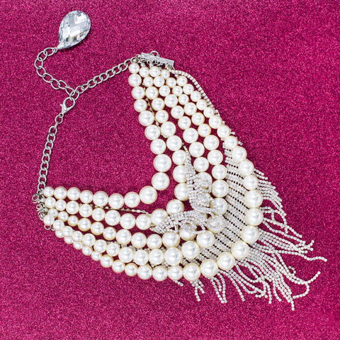 ULTIMATE PEARL STATEMENT NECKLACE