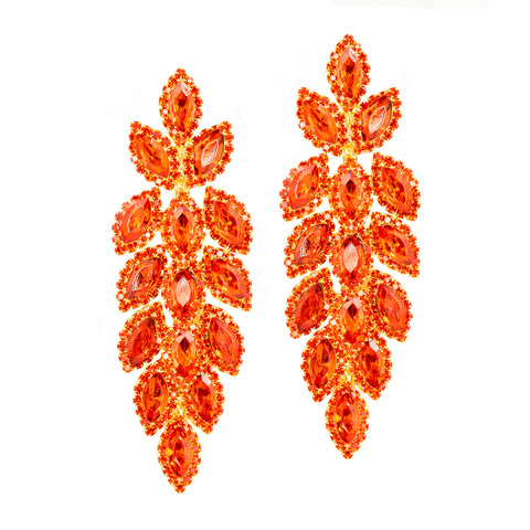 FIERCE FIRE STATEMENT EARRINGS