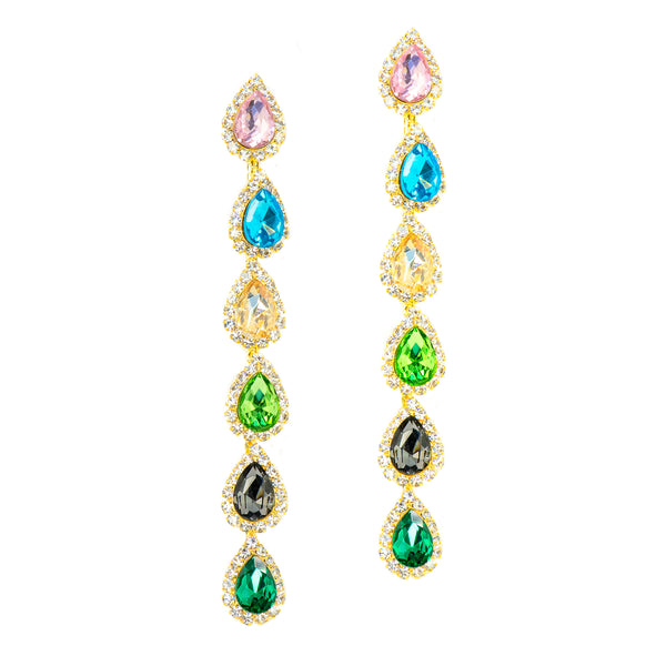 ULTIMATE GLAMOUR STATEMENT EARRINGS