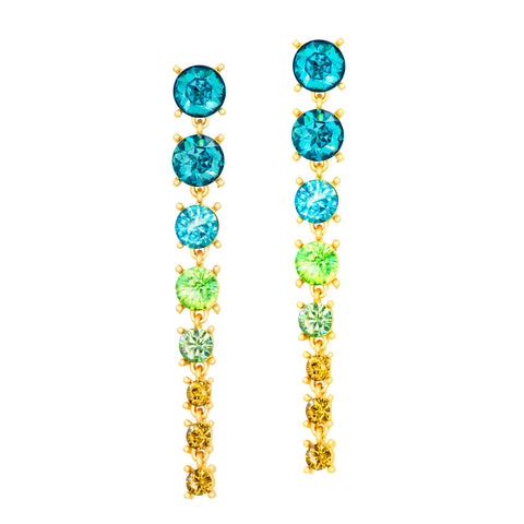 SUNSET CASCADE STATEMENT EARRINGS