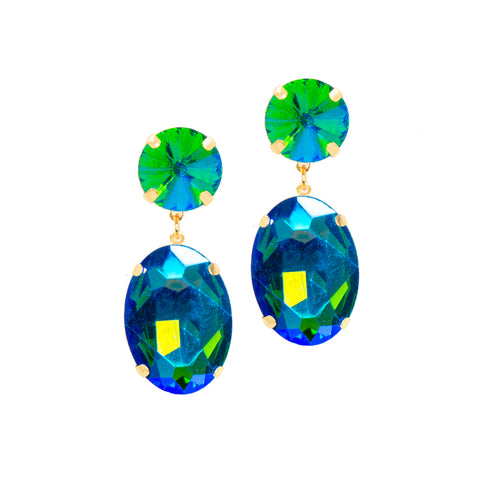 ITALIAN COAST STATEMENT EARRINGS