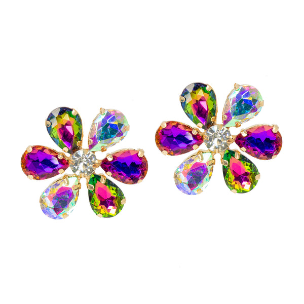 KALEIDOSCOPE GLAM STATEMENT EARRINGS