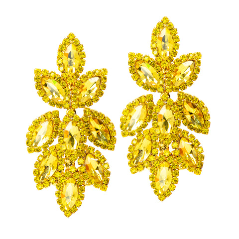 LUSCIOUS LEMON STATEMENT EARRINGS