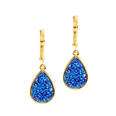 LAKE TWINKLE STATEMENT EARRINGS