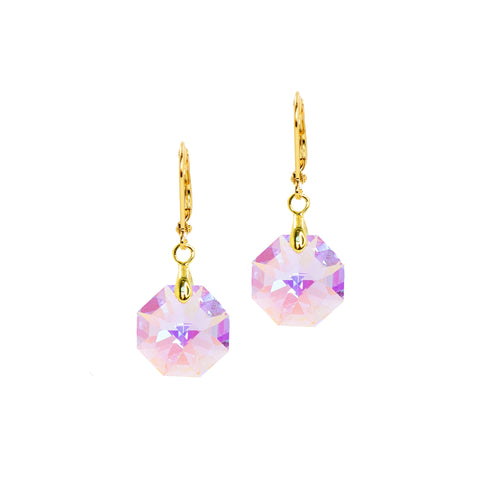 LAVENDER HUE STATEMENT EARRINGS