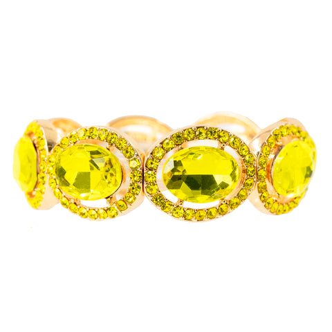 LUSCIOUS LEMON STATEMENT BRACELET