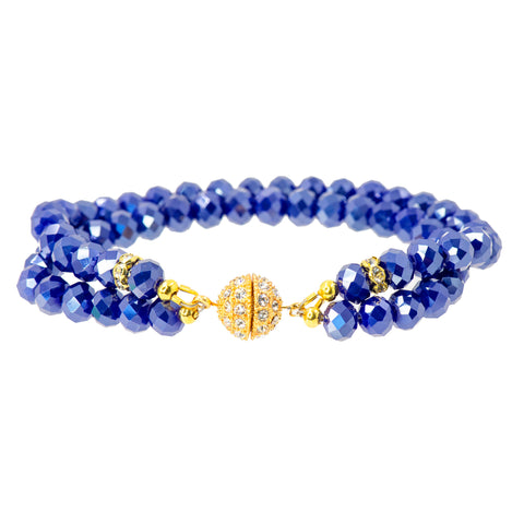 NAUTICAL SPARKLE STATEMENT BRACELET