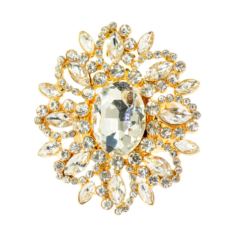 EUROPEAN DAZZLE STATEMENT RING