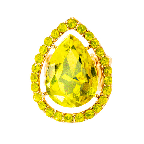 LUSCIOUS LEMON STATEMENT RING