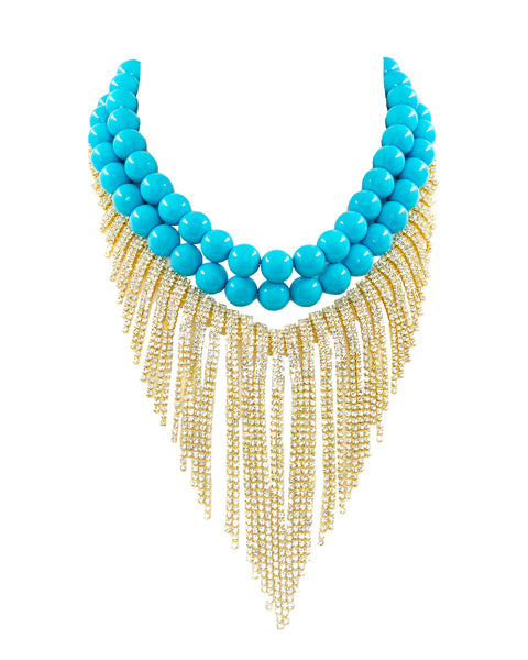 OCEAN QUEEN STATEMENT NECKLACE