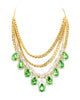 POP OF GLAM STATEMENT NECKLACE (MINT)