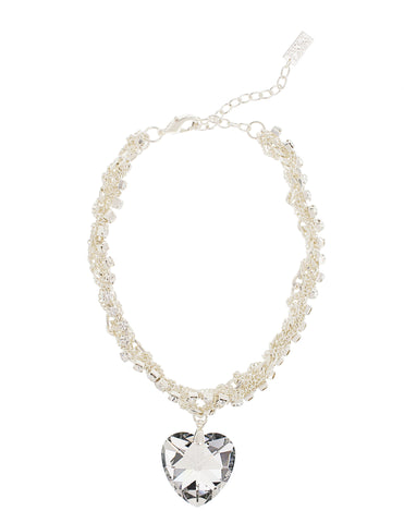 TIMELESS LOVE STATEMENT NECKLACE