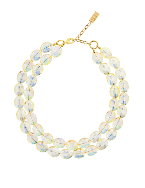 EVERYDAY ELEGANCE STATEMENT NECKLACE (YELLOW)