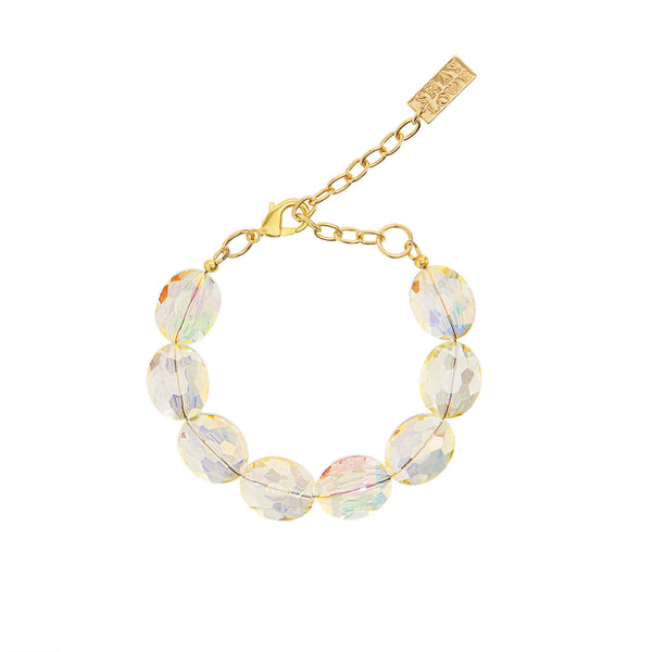 EVERYDAY ELEGANCE STATEMENT BRACELET (YELLOW)