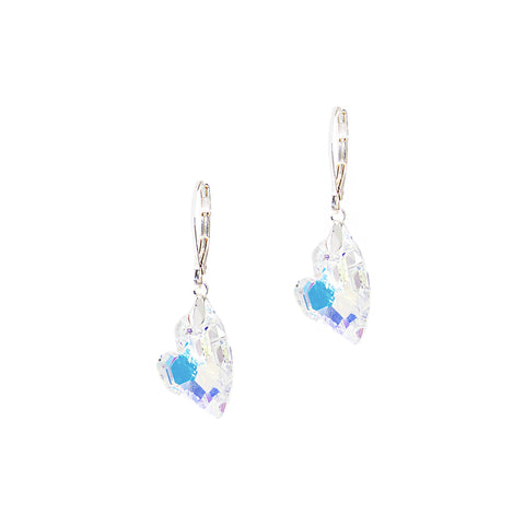 NORTHERN LIGHTS STATEMENT EARRINGS (SILVER/AB)