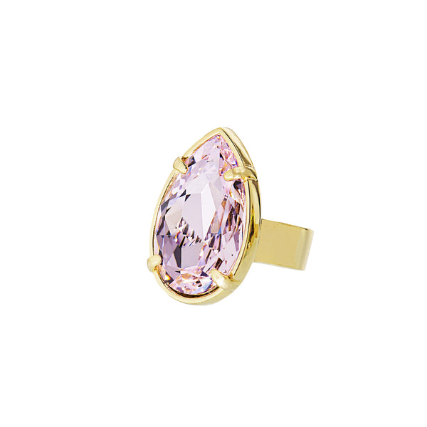 TOUCH OF CLASS STATEMENT RING (ROSALINE)
