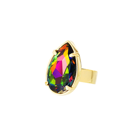 TOUCH OF CLASS STATEMENT RING (VITRAIL)