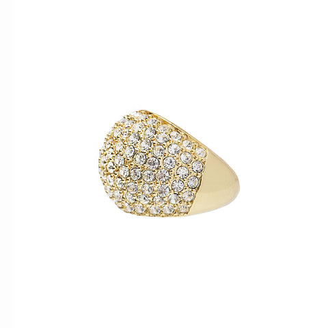 DAZZLING NIGHTS STATEMENT RING (GOLD)