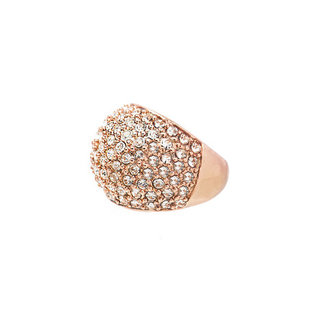 DAZZLING NIGHTS STATEMENT RING (ROSE GOLD)