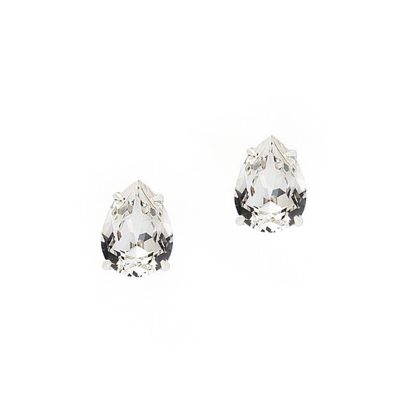 RICH IN GLAMOUR STATEMENT EARRINGS (SILVER)