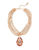 RIVIERA CHIC STATEMENT NECKLACE (CAPRI GOLD)