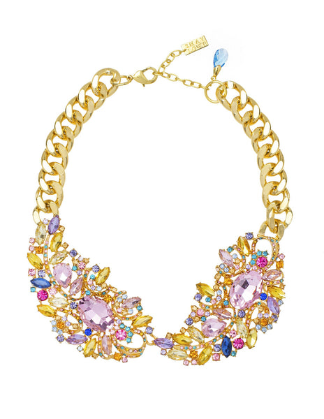 PRETTY IN PASTEL STATEMENT NECKLACE